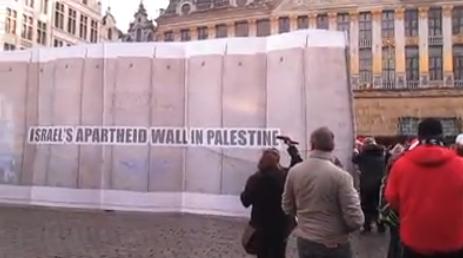 A Bruxelles #StopOccupation #StopIsraelApartheid #BoycottIsrael