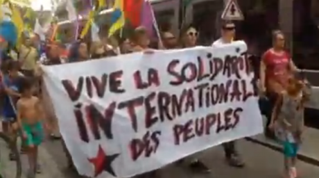 « Erdogan assassin » : manifestation à Strasbourg après l'attentat de Diyarbakir
