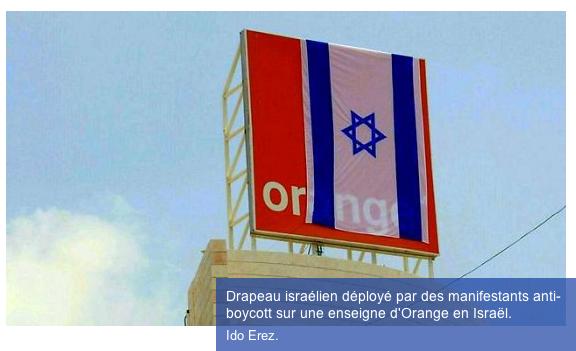 Boycott d'Orange : dérapages dans la communication israélienne