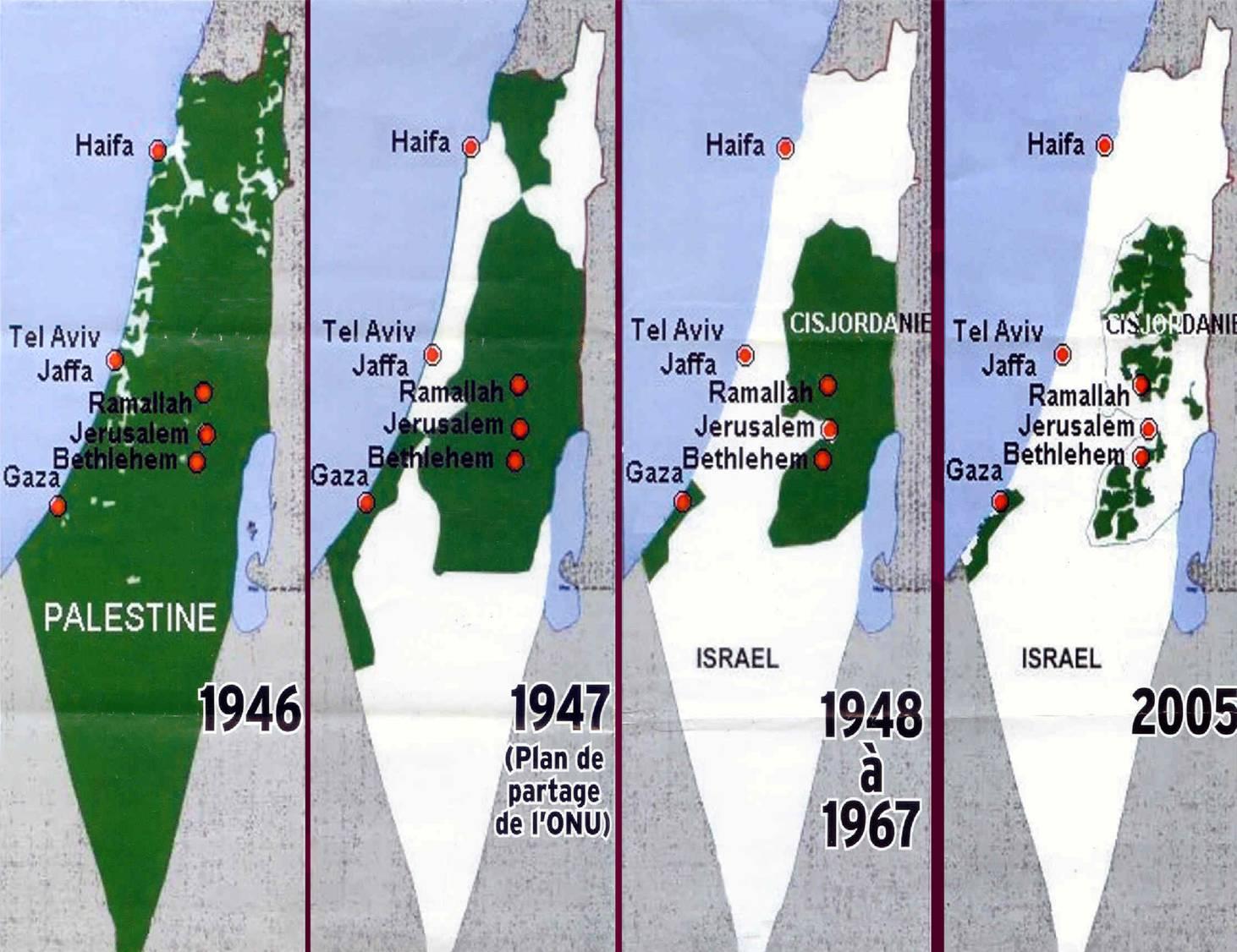 La carte du ministère israélien du tourisme annexe plus de 60 % de la Cisjordanie