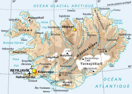 Silence radio sur l'Islande !