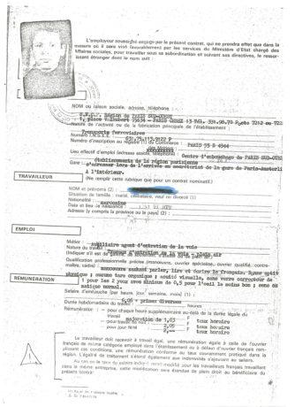 Solidarité avec les chibanis de la SNCF