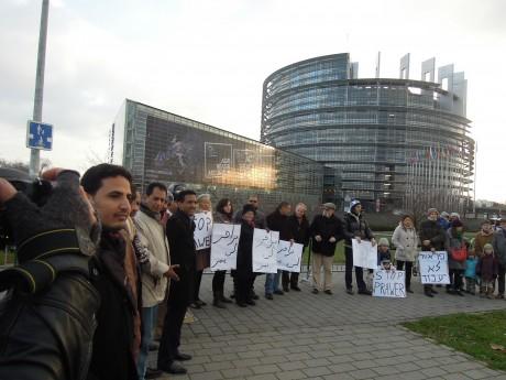Des Israéliens appellent à une manifestation devant le parlement européen à Strasbourg le 16 juillet à 15h00.