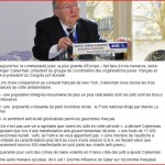 Les délires de Roger Cukiermann au Congrès juif mondial