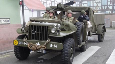 """70 ans après, la """"2 me DB"""" entre à Eckbolsheim"""