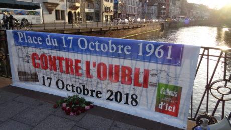Commémoration du massacre d'Algériens du 17 octobre 1961/Strasbourg