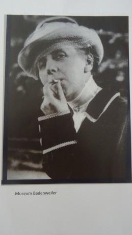 Annette Kolb, par Charles Fichter