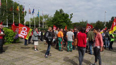 Grève et rassemblement CGT Eurométropole pour le service public