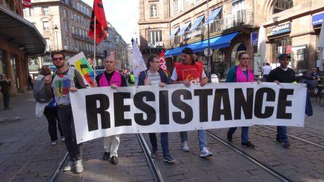 2000 manifestants à Strasbourg contre la loi-travail XXL