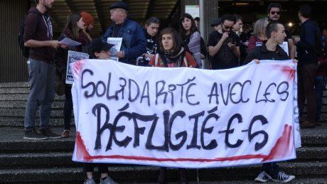 Strasbourg: solidarité avec les réfugiés