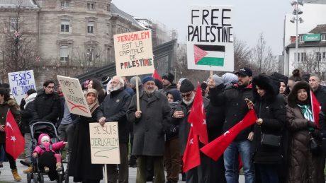 Al Quds-Jérusalem capitale de la Palestine: deux rassemblements à Strasbourg