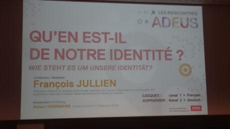 François Jullien: Qu'en est-il de notre identité?