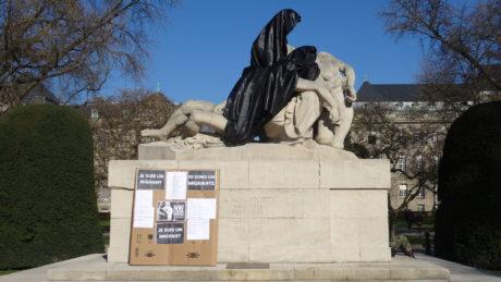 Commémoration du massacre des juifs de Strasbourg le 14 février 1349