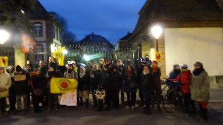 Bure/Strasbourg: manif contre l'évacuation du Bois Lejuc