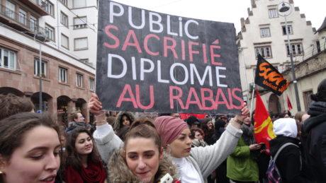 Communiqué des organisations syndicales de l'Université de Strasbourg et des organismes de recherche