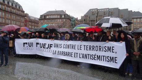 Strasbourg pour Mireille Knoll