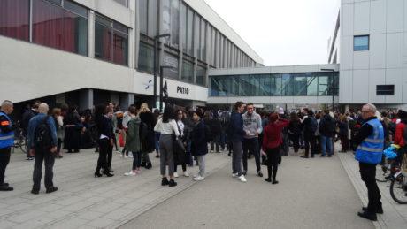 Patio et nouveau Patio bloqués toute la journée à Strasbourg