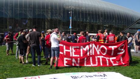 Convergence des luttes à Strasbourg: 4000 manifestant.e.s