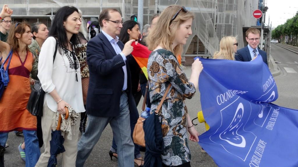 Marche des visibilités 2015 Strasbourg