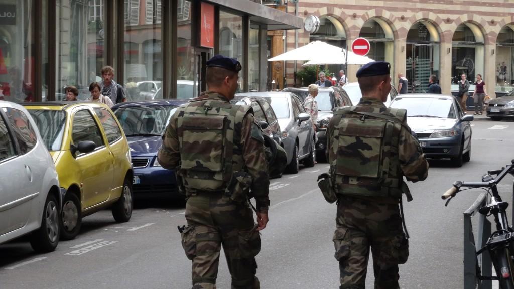 patrouille armée