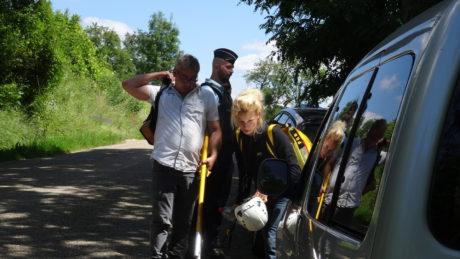 Intervention sur des arbres à la ZAD du Moulin de Kolbsheim