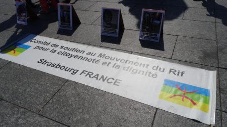 Strasbourg: rassemblement de solidarité avec le Rif réprimé