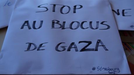 """""""On vous écrit de Gaza"""""""