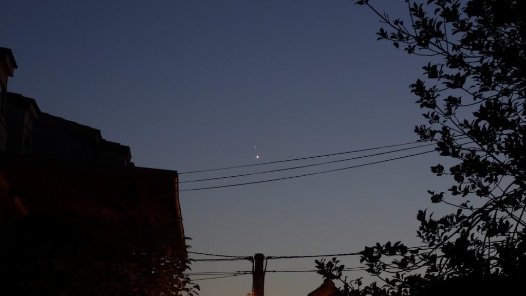 Vénus Jupiter feuille2chou