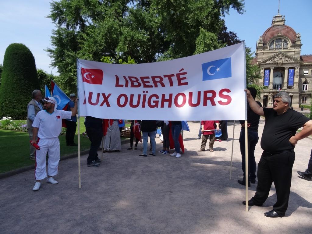 Strasbourg : Liberté aux Ouïghours
