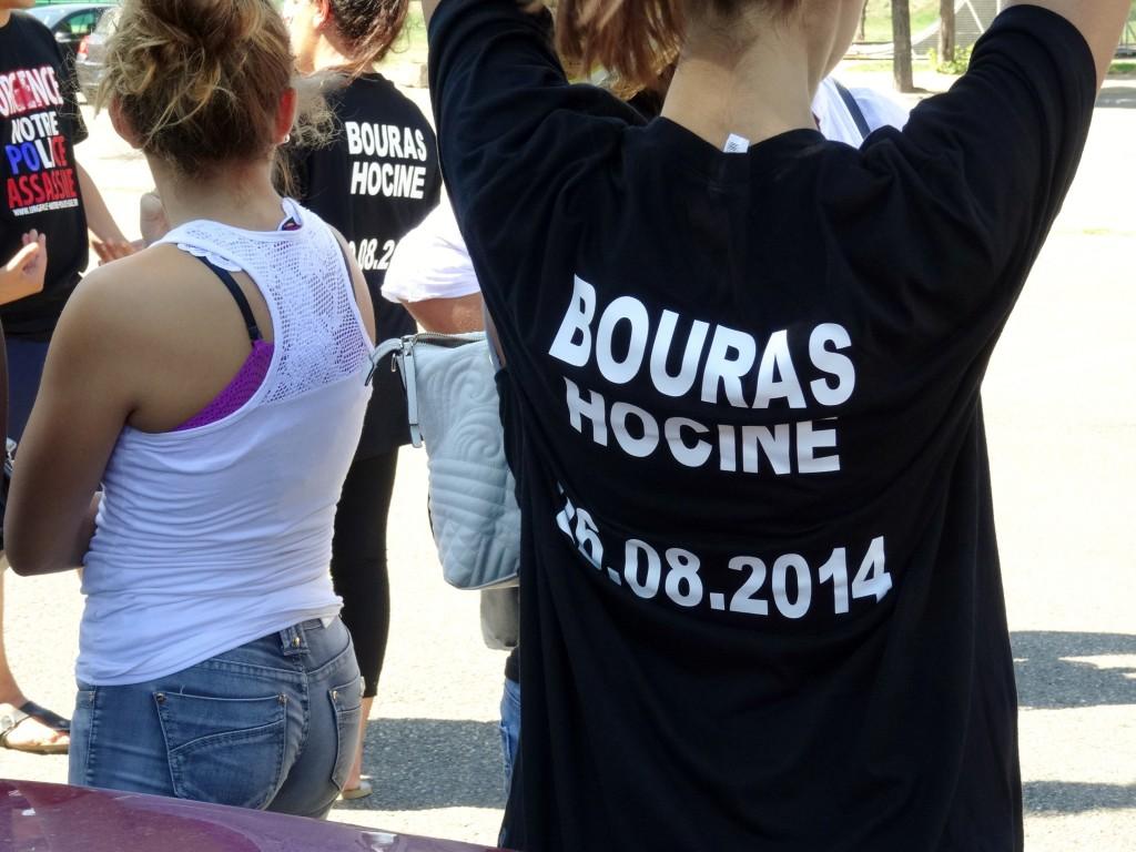 Campagne de soutien du collectif Vérité et Justice pour Hocine Bouras.