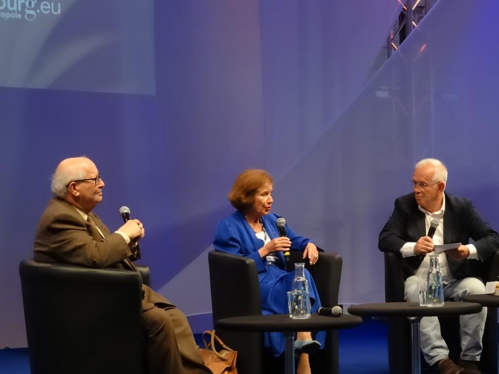 Beate et Serge Klarsfeld ont fait salle comble à Strasbourg