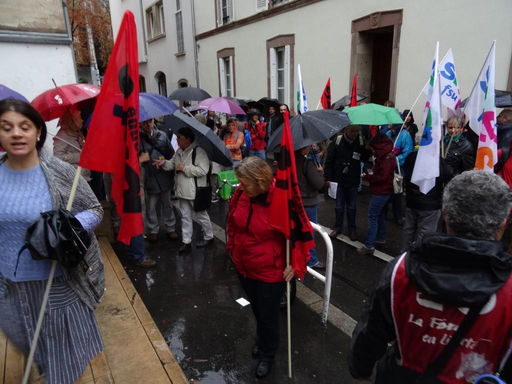 Strasbourg: grève et manifestation des enseignants