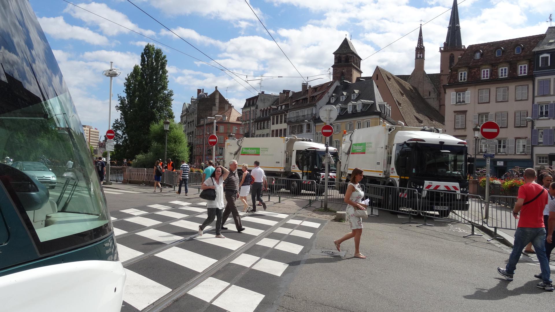 Braderie sous état d'urgence à Strasbourg