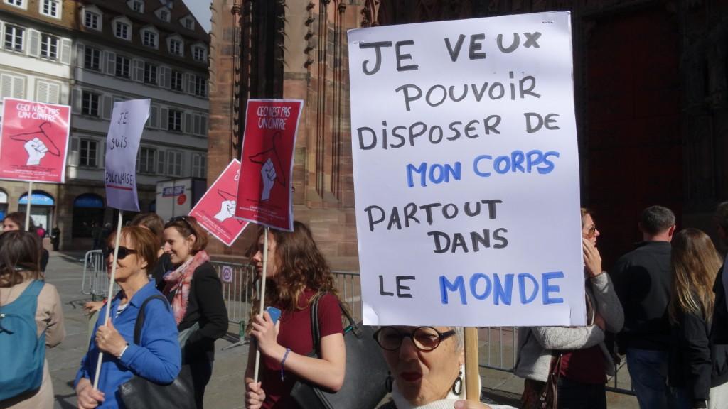 Strasbourg: défense de l'IVG en Pologne