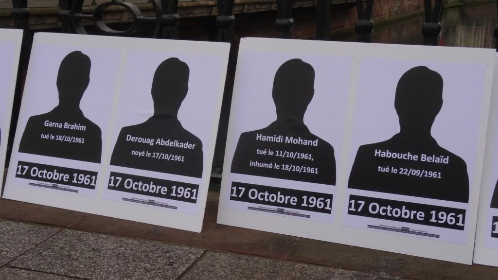 17 octobre 1961-2016 à Strasbourg