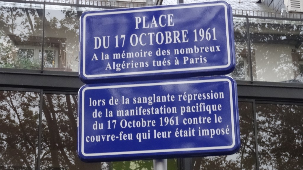 place du 17 octobre 1961 f2c