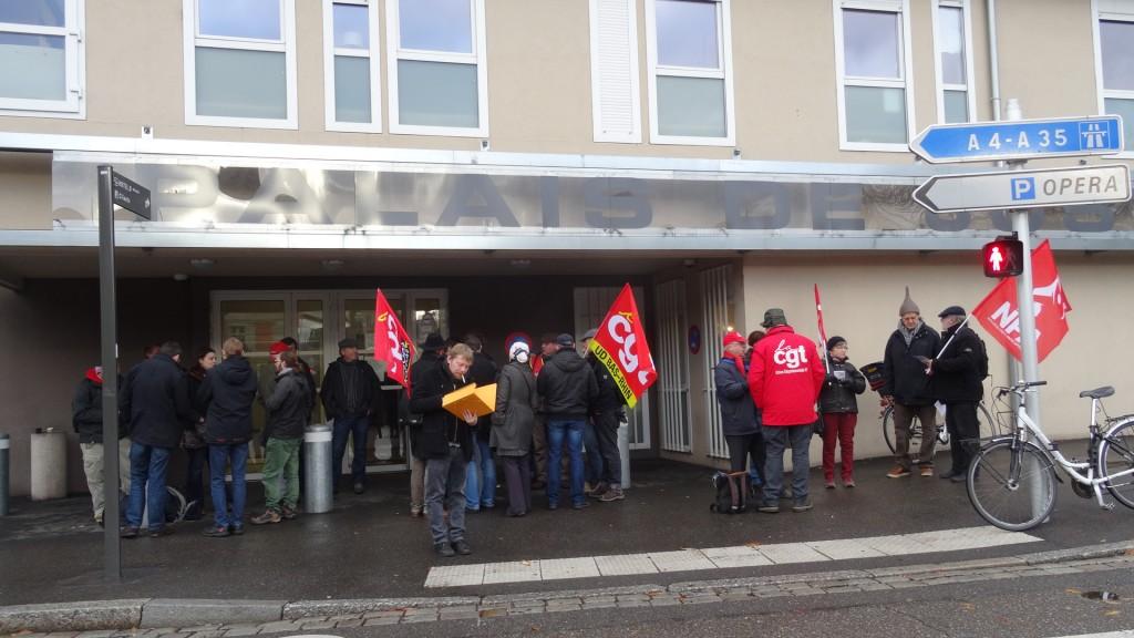 Condamnation d'une camarade de la CGT suite à une manifestation contre la loi Travail