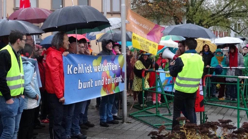 Kehl: Demo gegen AfD/ manif antifasciste