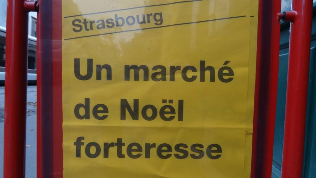 Supermarché de Noël: Strasbourg ultra sécurisée