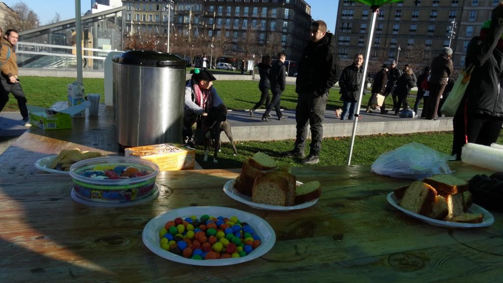 Une soupe populaire contre la misère à Strasbourg