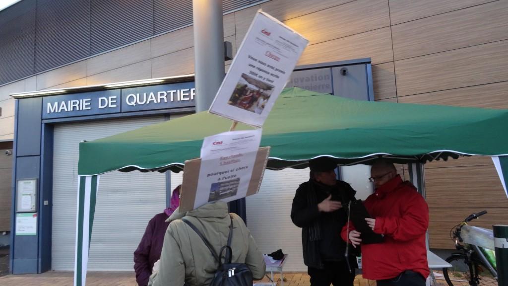 Locataires en colère contre CUS-Habitat à Strasbourg-Hautepierre