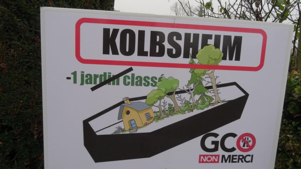 Journée de résistance au GCO au Château de Kolbsheim