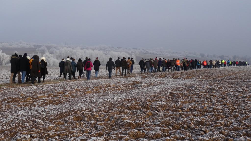 2ème « Marche des cabanes » de Kolbsheim à Ittenheim