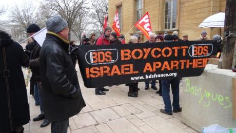 La criminalisation du BDS en France, par Pierre Stambul