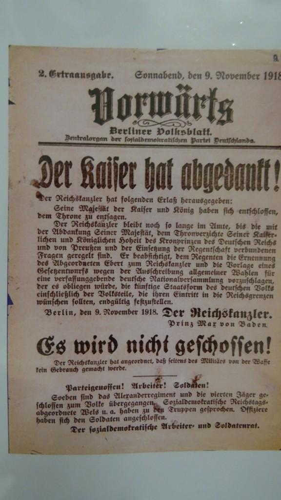 Schickele Kreis Le 9 novembre (1918)