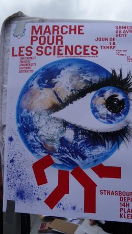 Marche pour les sciences à Strasbourg