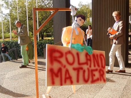 Forte mobilisation des communaux à Strasbourg