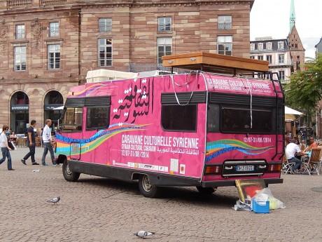 Caravane culturelle syrienne à Strasbourg