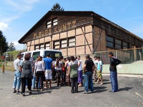 A l'occasion de la Pâque orthodoxe, Latcho Rom au campement Saint-Gall de Strasbourg