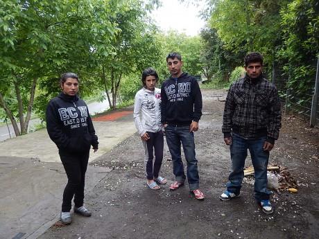 Latcho Rom Strasbourg: la police empêche des Roms de reconstruire leurs cabanes